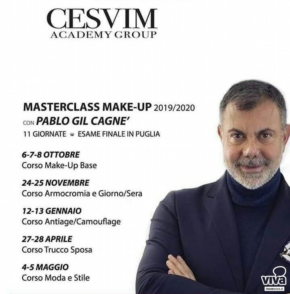 Novità in Puglia: Pablo Gil Cagnè con Cesvim Academy a Trani