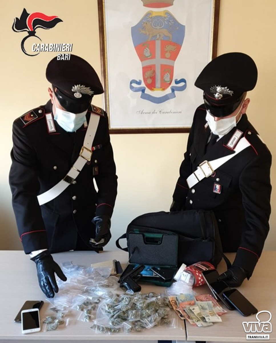 Droga rinvenuta dai Carabinieri