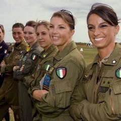 Il tenente Carla Brocolini ha scelto il cielo come seconda casa