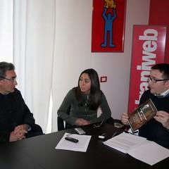 """Francesco Pagano e Nicola Fiore presentano il libro """"Fonologia e morfologia del dialetto tranese"""""""