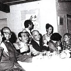 Bettino Craxi tra gli ospiti de La Lampara