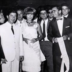 Miss Italia Puglia 1964 con Nuzzolese