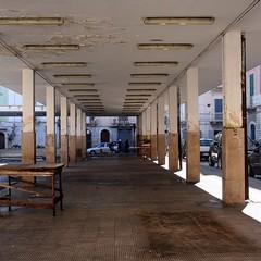 Lavori in piazza Campo dei Longobardi