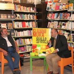 Il giornalista Gianni Mura a Trani
