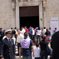 Trani, Crocifisso di Colonna 2010