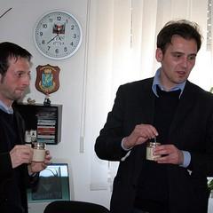 Un caffè con Fabrizio Ferrante
