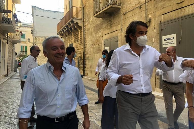 Fitto a Trani con il candidato al consiglio regionale Emanuele Tomasicchio