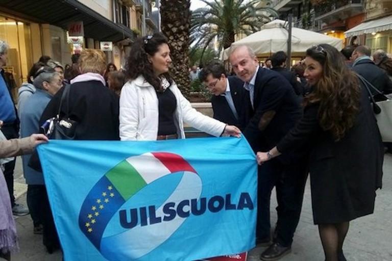 Scuola, Uil unico sindacato in crescita nella Bat e a Bari