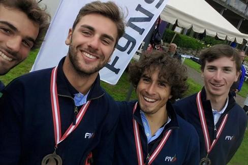 Valerio Galati ed il suo Italian Team