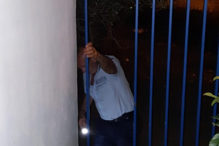 Tentato furto in un'azienda di via Barletta