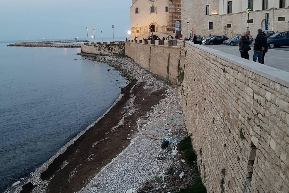 Spiaggia castello svevo