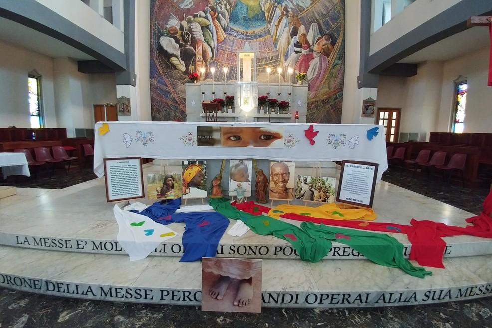 Nel Santuario della Madonna di Fatima a Trani