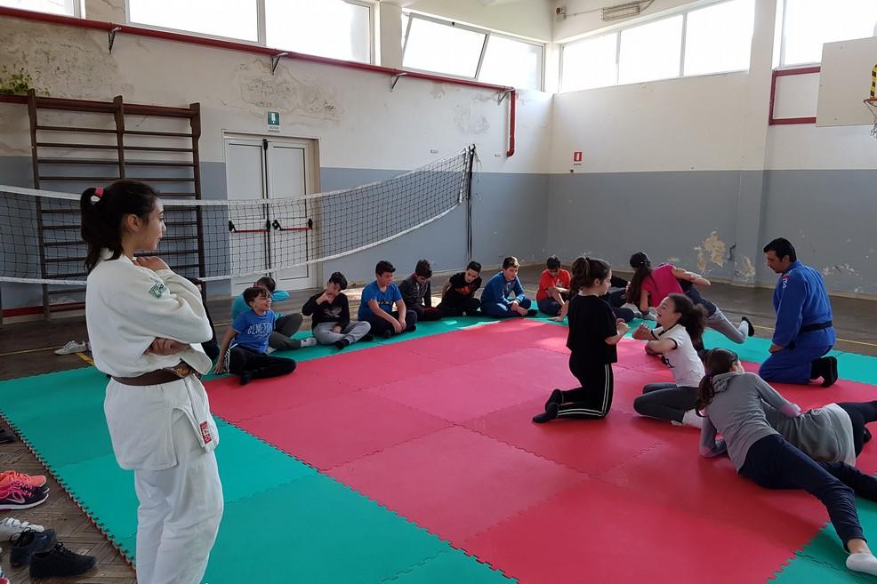 Judo a scuola