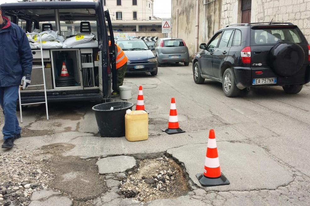 Lavori stradali a Trani, priorità alla zona nord