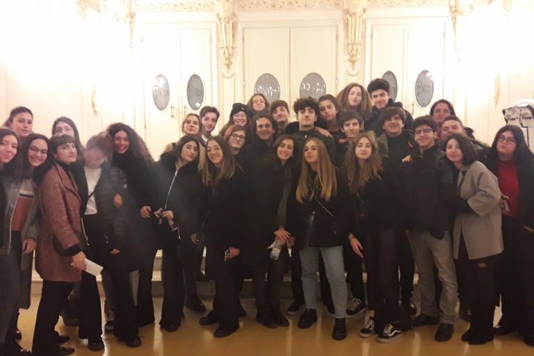 Studenti del Liceo Scientifico a Bari