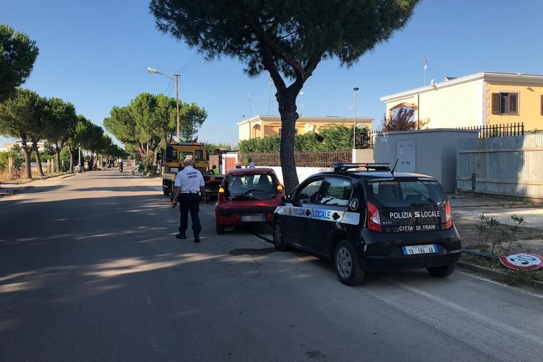 Incidente, polizia locale