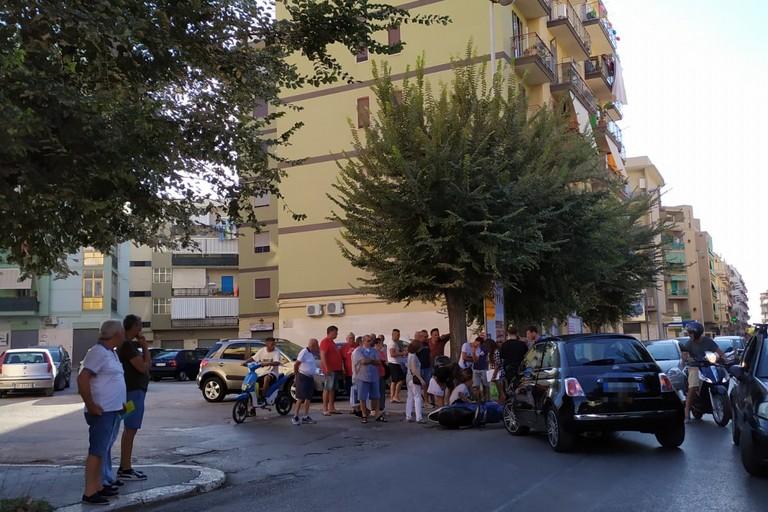 Incidente in corso Imbriani