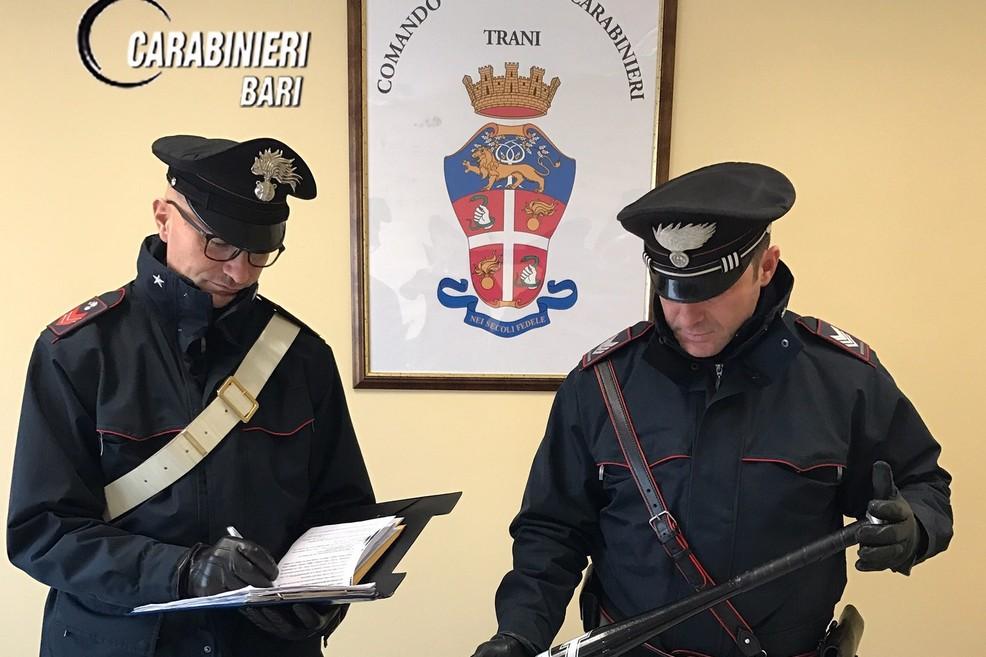 Traffico di droga e armi, arresti dei carabinieri anche a Trani
