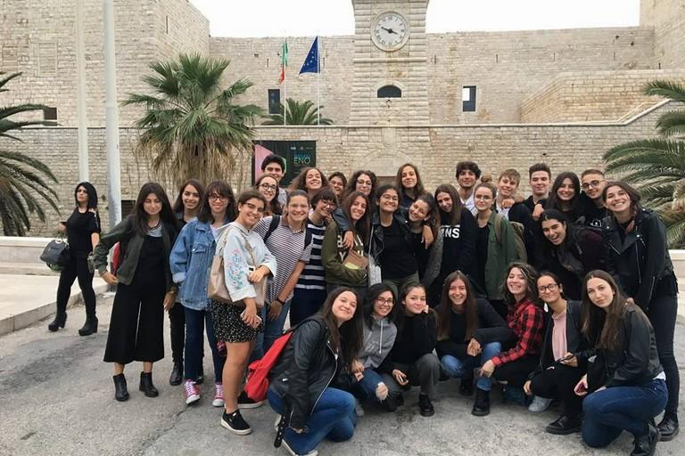 Studenti del De Sanctis