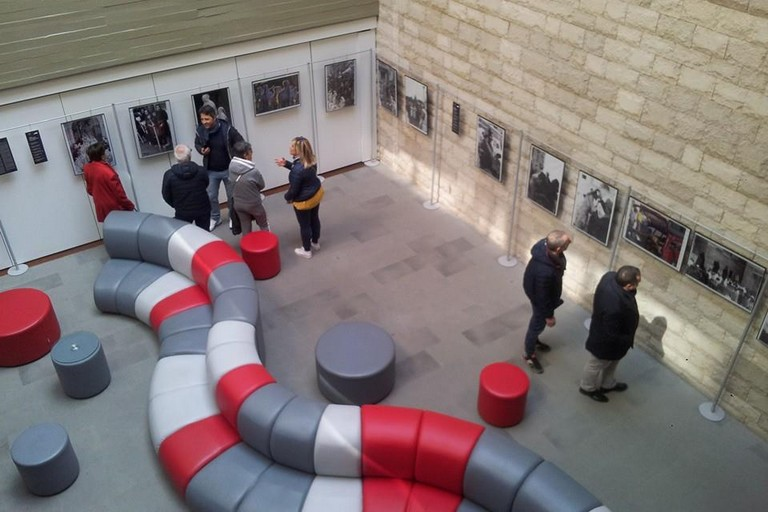 Turisti al Polo Museale