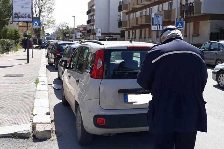 Parcheggi in divieto