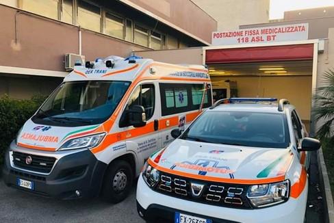 Oer Trani, ambulanza e automedica