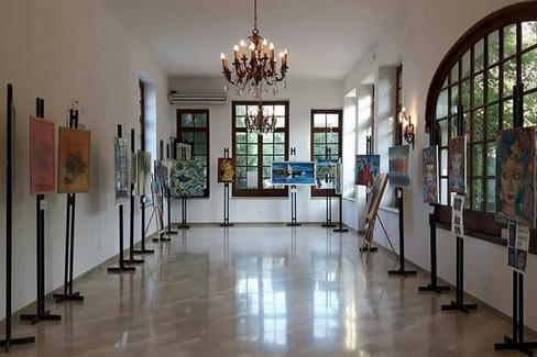 Mostra d'arte in villa