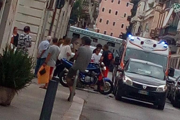 Incidente in via Margherita di Borgogna