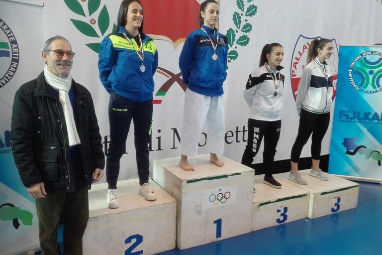 La tranese Antonella Biancolillo è campionessa regionale di Karate/Kata