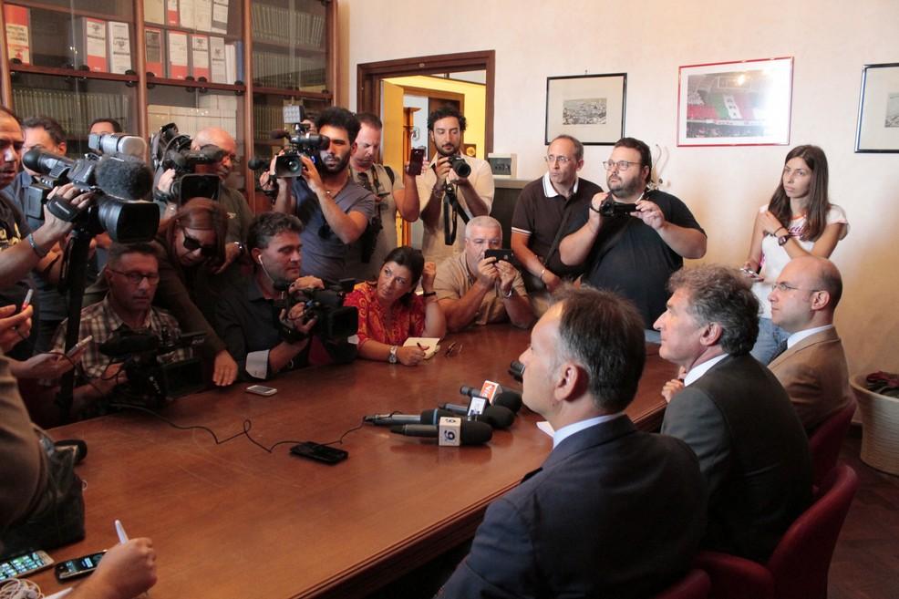 Conferenza stampa in Procura su disastro ferroviario