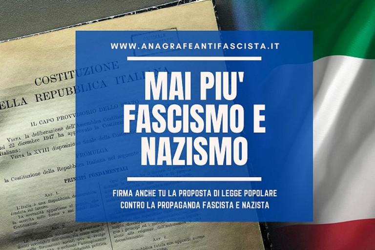 Proposta legge antifascista