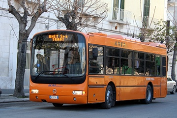 Autobus circolare AMET Trani