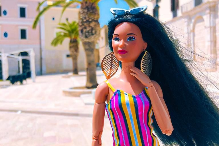 barbie in town
