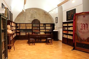 Trani i locali della biblioteca ad università privata la