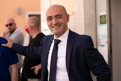 Il candidato Sindaco Vito Branà accoglie Dino Giarrusso a Trani