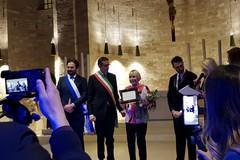Una cattedrale strabordante ha applaudito il Quinteto Astor Piazzolla e la nuova cittadina tranese Laura Escalada