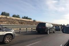 Tamponamento sulla 16bis all'uscita Trani-Boccadoro: traffico rallentato