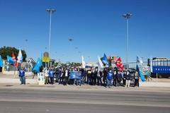 Protesta al Carcere di Trani, i sindacati: «Vogliamo la chiusura della sezione blu»