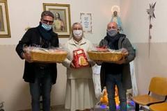 Asd Città di Trani e solidarietà: donati cesti di prima necessità ai bambini dell'orfanotrofio