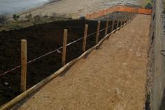 Prende forma la rampa di accesso alla Seconda Spiaggia