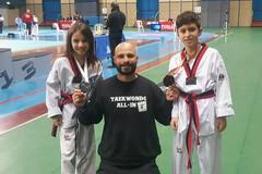 """Taekwondo, pioggia di medaglie a Bari per la """"All in"""" di Trani"""
