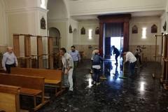 Bomba d'acqua su Trani: allagata la chiesa della Madonna del Pozzo