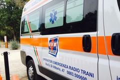 Un'ambulanza a Castel del Monte, a gestire la postazione l'Oer Trani