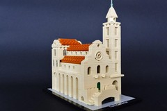 Cattedrale di Trani riprodotta in Lego: l'opera è di Paolo Tupputi