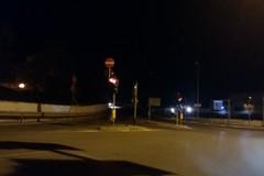 Via Andria, Cavalcaferrovia al buio da cinque giorni