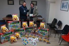 Trani Sos Infanzia, in arrivo tanti giocattoli per i bambini bisognosi