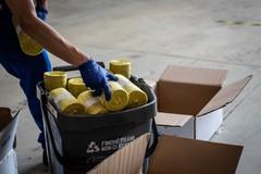 Amiu, dal 19 ottobre al via la distribuzione di buste gialle per la plastica