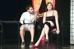 """Sold out per il debutto del nuovo spettacolo teatrale """"40mq"""" con la tranese Irene Antonucci"""