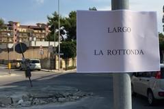 Rotonda di via Istria, al via i lavori di rifacimento con l'aiuto di un privato