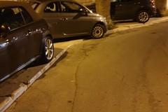 """La """"folle"""" corsa al parcheggio in via Statuti Marittimi"""